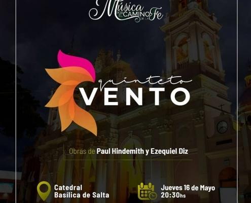 May 16 | Salta | Vento Quintet