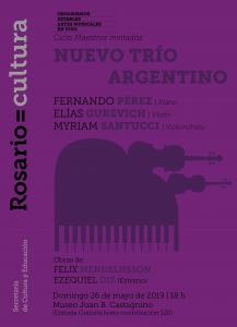 May 26 | Rosario | Nuevo Trío Argentino