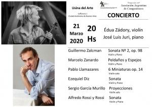 21 de marzo | Buenos Aires | Usina del Arte