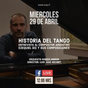 Wednesday 29 | Streaming Face-Live 12 Hs | Orq. Marga Marga
